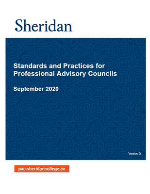 Professional Advisory Councils booklet