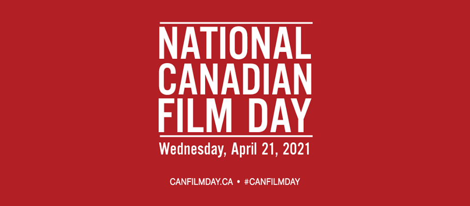 National Canadian Film Day poster