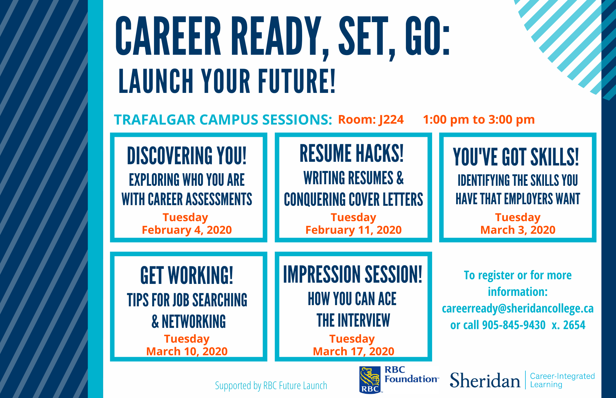career ready launch your future - Trafalgar campus 2020 - revised