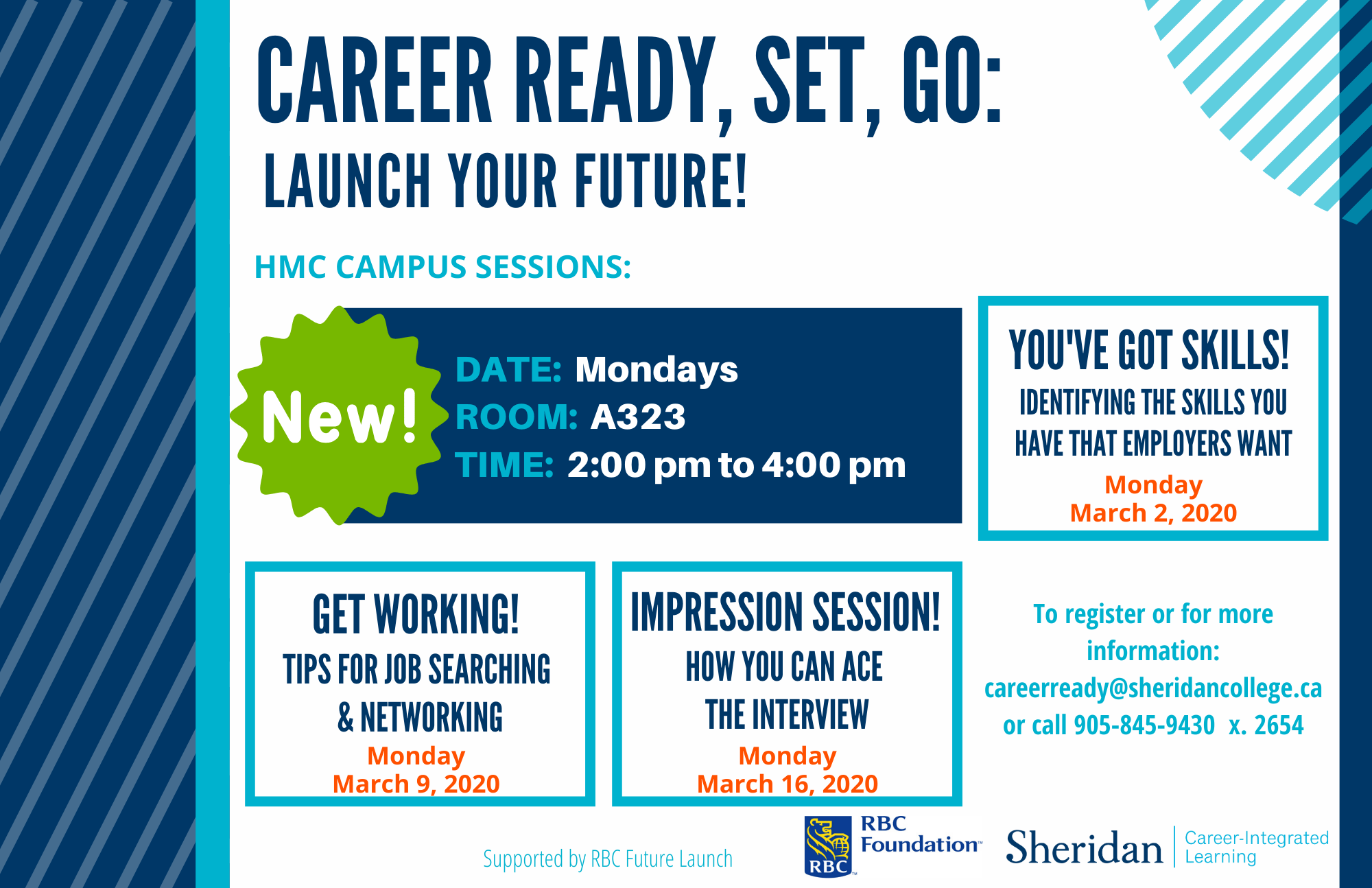Career Ready Launch your Future Poster for HMC