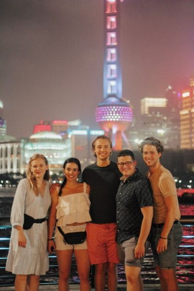 Sheridan Music Theater students in Melbourne, Australia
