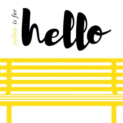 #YellowisforHello