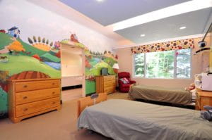 One of the rooms at The Darling Home for Kids