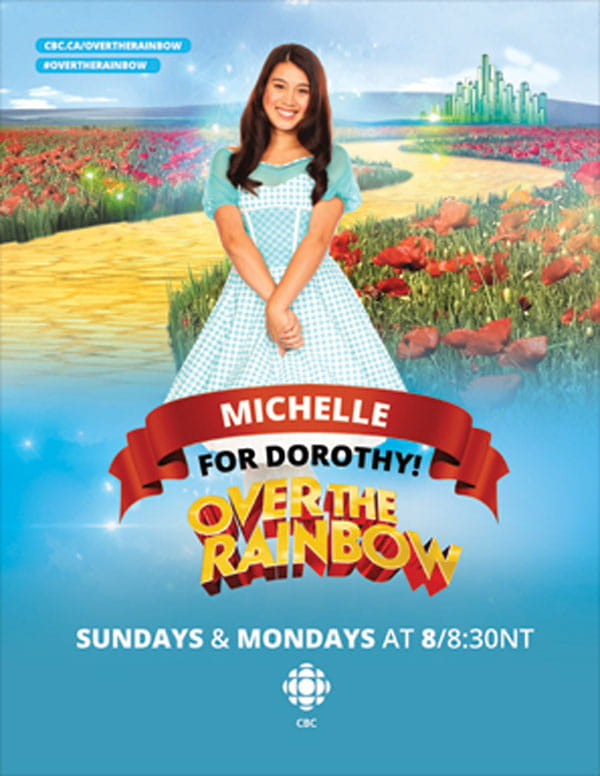Michelle For Dorothy! Over the Rainbow