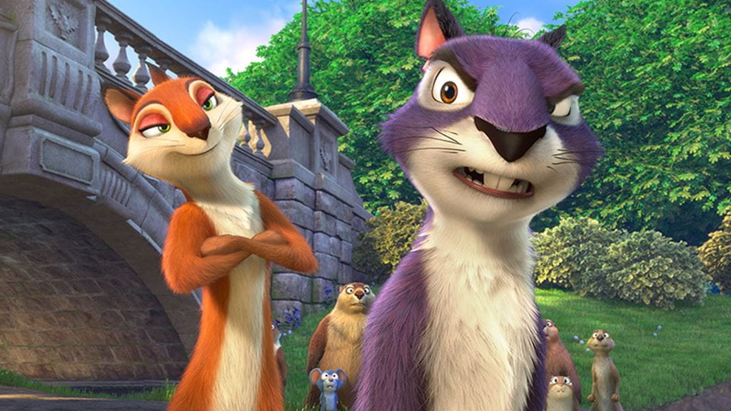 The Nut Job 2. Provided by ToonBox Entertainment