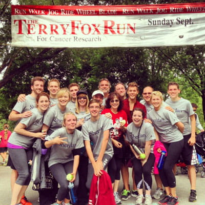 Sheridan students, faculty team up for Terry Fox Run